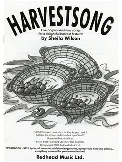 Sheila Wilson: Harvestsong (Word Book) Books | Voice