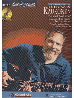 The Guitar Of Jorma Kaukonen Books | Guitar Tab, with chord symbols