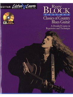 Rory Block Teaches Classics Of Country Blues Guitar Books and CDs | Guitar