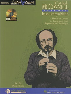 Cathal McConnell Teaches Irish Pennywhistle Books and CDs | Pennywhistle