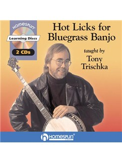 Hot Licks For Bluegrass Banjo CDs | Banjo