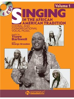 Ysaye Barnwell: Singing In The African American Tradition (Book/ 4CDs) Books and CDs | Voice