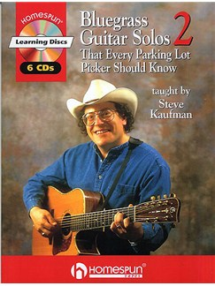 Bluegrass Guitar Solos (Series 2) Books and CDs | Guitar Tab, with chord symbols