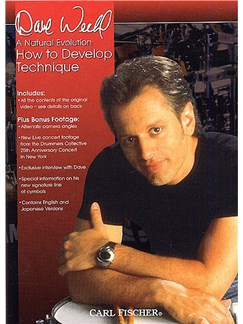 Dave Weckl: How to Develop Technique DVDs / Videos | Drums
