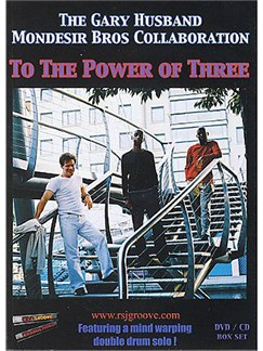 To The Power Of Three: The Gary Husband Mondesir Bros Collaboration CD et DVDs / Videos | Batterie, Clavier, Guitare Basse