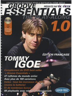 Tommy Igoe: Groove Essentials 1.0 - The Play-Along (French Edition) Books and CDs | Drums