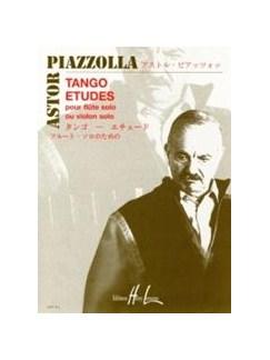 Astor Piazzolla: 6 Tango Études (Flute Or Violin) Books | Flute or Violin