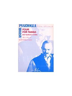Astor Piazzolla: Four For Tango - String Quartet Books | String Quartet