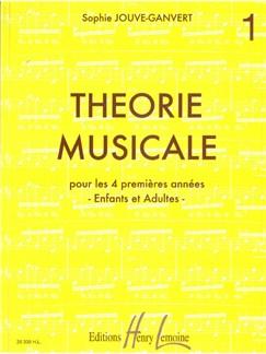 Sophie Jouve-Ganvert: Théorie Musicale Volume 1 Books | All Instruments