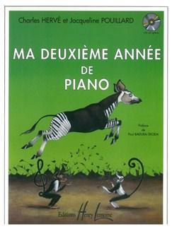 Charles Hervé: Ma Deuxième Année De Piano Books | Piano