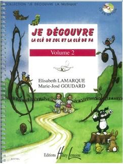 Elisabeth Lamarque: Je Découvre La Clé De Sol Et Fa - Volume 2 Books | All Instruments