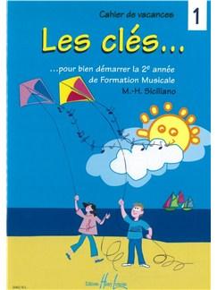 Marie-Hélène Siciliano: Les Clés Volume 1 Books   All Instruments