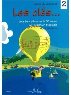 Marie-Hélène Siciliano: Les Clés Volume 2 Books | All Instruments
