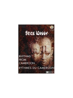 Brice Wassy: Rhythms From Cameroon Books and CDs | Percussion