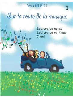 Yves Klein: Sur La Route De La Musique - Volume 1 Books | All Instruments