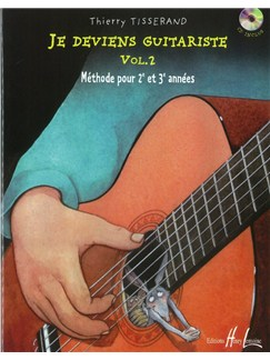 Thierry Tisserand: Je Deviens Guitariste - Volume 2 (Book/CD) Books and CDs | Guitar