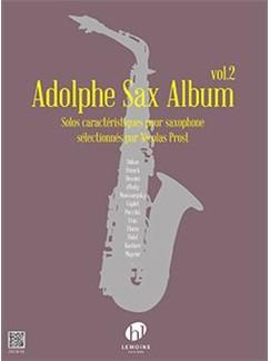Arr. Nicolas Prost: Adolphe Sax Album Vol.2 (Saxophone) Books | Saxophone