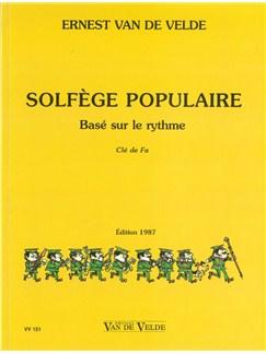 Ernest Van De Velde: Solfège Populaire - Clé De Fa Books | All Instruments