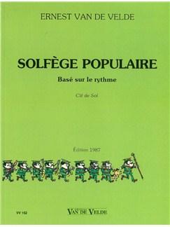 Ernest Van De Velde: Solfège Populaire - Clé De Sol Books | All Instruments