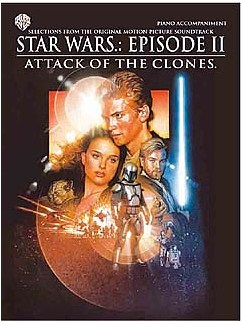 Star Wars: Episode II Attack Of The Clones Piano Accompaniment Books | Piano