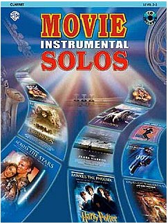 Movie Instrumental Solos Clarinet Books and CDs | Clarinet