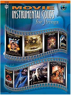 Movie Instrumental Solos (Violin) Books and CDs | Violin