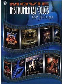 Movie Instrumental Solos Piano Accompaniment (Strings) Books | Piano