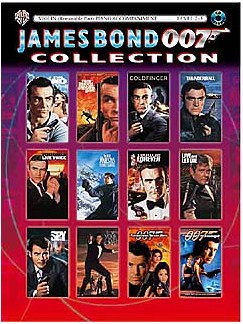 James Bond 007 Collection: Violin Books and CDs | Violin, Optional Piano Accompaniment