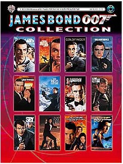 James Bond 007 Collection: Cello Books and CDs | Cello, Optional Piano Accompaniment