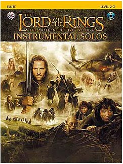 Lord Of The Rings: Instrumental Solos: Flute (Book And CD) Books and CDs | Flute