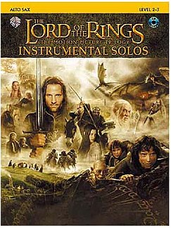 Lord Of The Rings: Instrumental Solos - Alto Sax (Book And CD) Books and CDs | Alto Saxophone