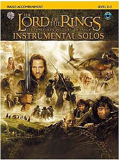 Lord Of The Rings: Instrumental Solos (Piano Accompaniments) Books and CDs   Piano