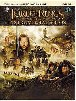 Lord Of The Rings: Instrumental Solos: Viola/Piano Accompaniment (Book And CD) Books and CDs | Piano Accompaniment, Viola