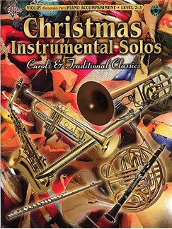 Christmas Instrumental Solos: Violin Level 2-3 Books and CDs | Violin