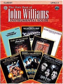 The Very Best Of John Williams: Instrumental Solos (Clarinet) Books and CDs | Clarinet