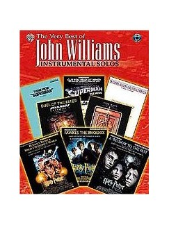 The Very Best Of John Williams: Instrumental Solos (Alto Sax) Books and CDs | Alto Saxophone