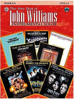 The Very Best Of John Williams: Instrumental Solos (Tenor Sax) Books and CDs | Tenor Saxophone