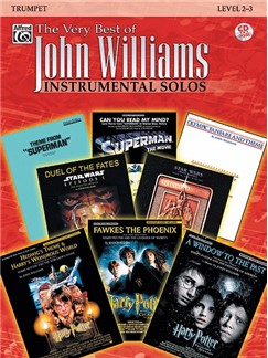 The Very Best Of John Williams: Instrumental Solos (Trumpet) Books and CDs | Trumpet