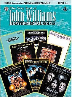 The Very Best Of John Williams: Instrumental Solos (Cello) CD et Livre | Violoncelle