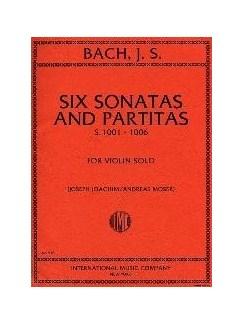 J.S. Bach: Six Sonatas And Partitas (Ed. Joseph Joachim) For Solo Violin Books | Violin