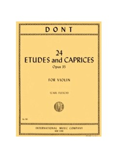 Jacob Dont: 24 Etudes And Caprices For Violin Books | Violin