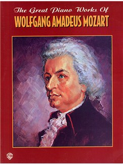 The Great Piano Works Of Wolfgang Amadeus Mozart Books | Piano