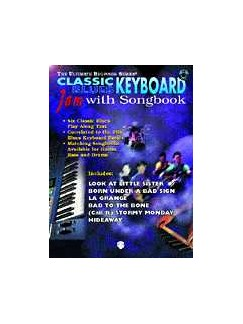Ultimate Beginner: Classic Blues Keyboard - Jam With Songbook Books and CDs | Keyboard