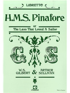 Gilbert And Sullivan: H.M.S Pinafore (Libretto) Books | Libretto