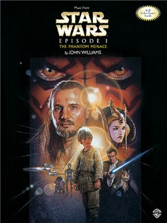 Star Wars, Episode 1 The Phantom Menace Books | Piano, Voice and Guitar