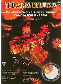 Transitions Drums (Book/Cd) Books and CDs | Drums