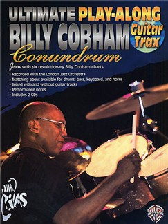Ultimate Play-Along Billy Cobham Conundrum: Guitar Trax Books and CDs | Guitar