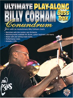 Ultimate Play-Along Billy Cobham Conundrum: Bass Trax Books and CDs | Bass Guitar