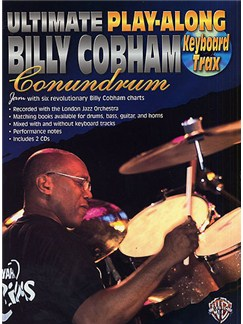 Ultimate Play-Along Billy Cobham Conundrum: Keyboard Trax Books and CDs | Keyboard