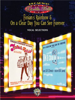 Burton Lane: Finian's Rainbow/On A Clear Day You Can See Forever - Vocal Books | Piano, Voice